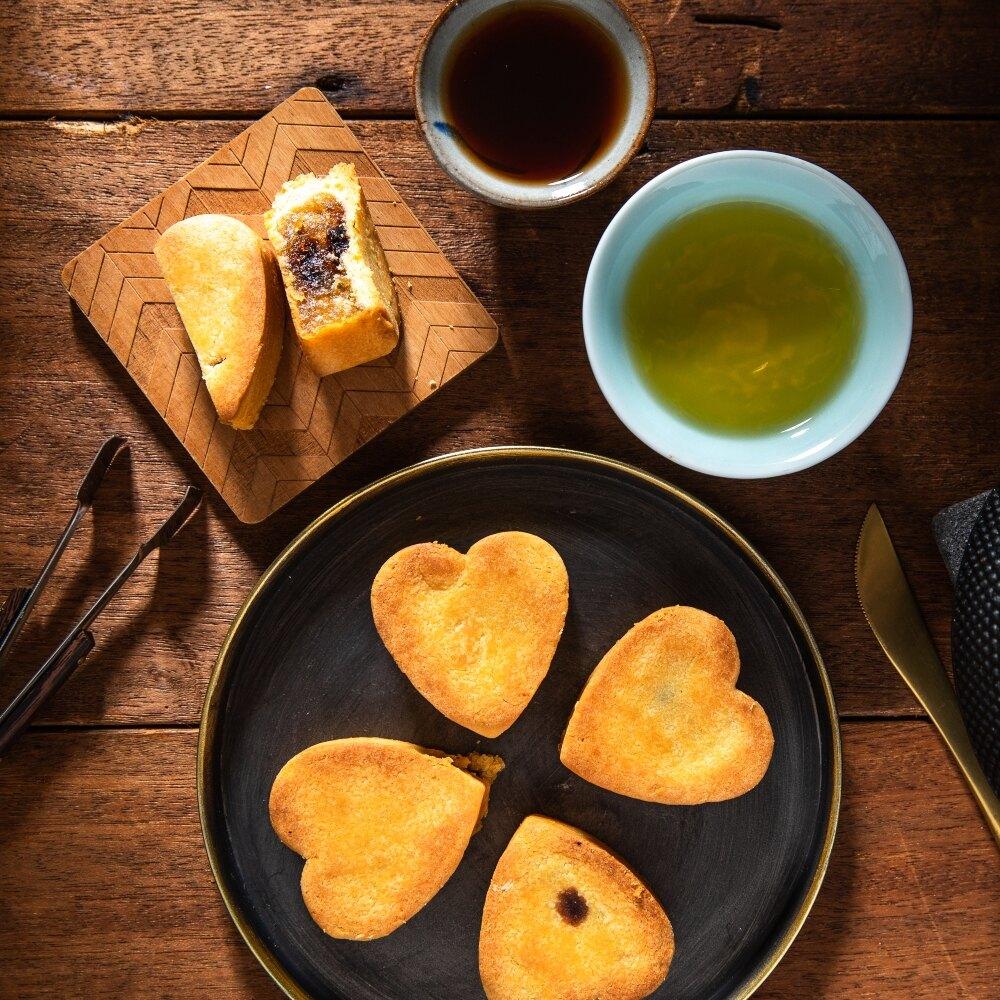 鳳梅酥禮盒(6入+2茶包) 鳳梨酥 梅子