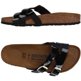 《セール開催中》BIRKENSTOCK レディース サンダル ブラック 35 紡績繊維