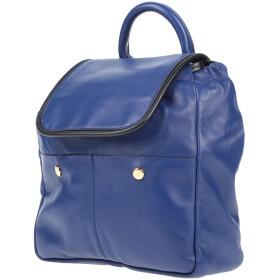 《セール開催中》MARNI レディース バックパック&ヒップバッグ ブルー 羊類革 85% / ナイロン 7% / 真鍮/ブラス 5% / ポリエステル 3%