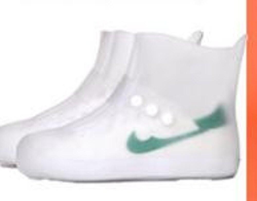雨鞋套鞋套防水雨天成人防水防雨鞋套男女家用防滑加厚耐磨可反復 全館免運 聖誕節禮物