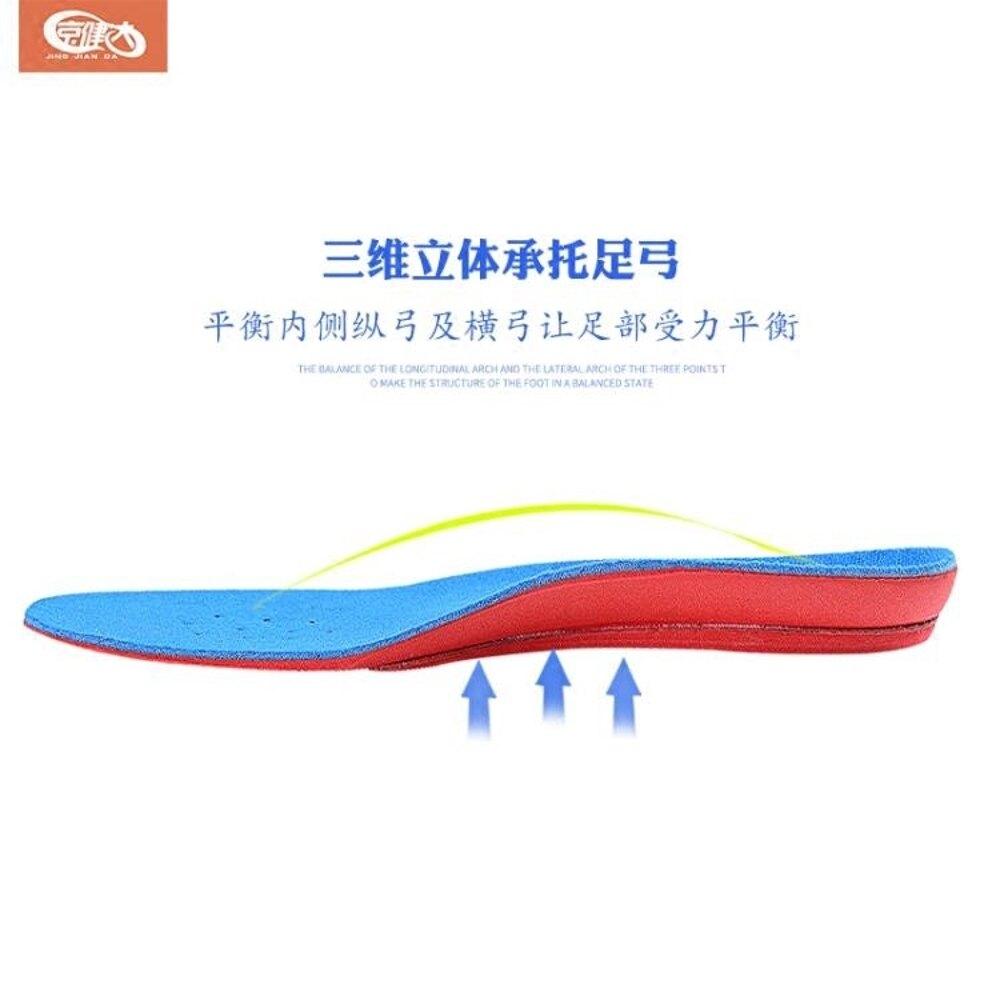 兒童鞋墊 輕度兒童扁平足矯正鞋墊足弓支撐足外翻腳心墊透氣舒適 寶貝計畫