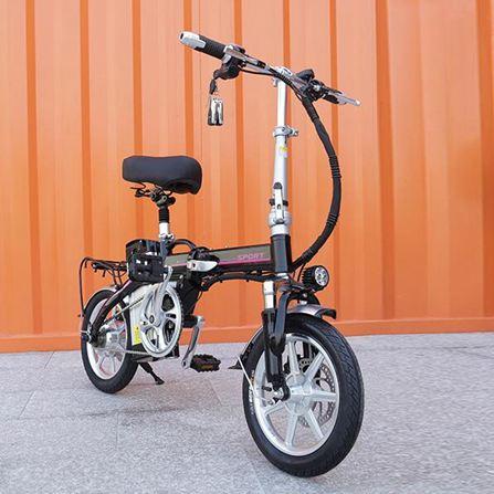 機車 12/14寸摺疊式電動自行車成人48V鋰電池代步電瓶車 NMS 黛尼時尚精品