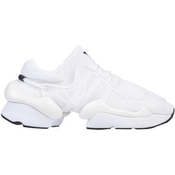 《セール開催中》Y-3 メンズ スニーカー&テニスシューズ(ローカット) ホワイト 7 紡績繊維