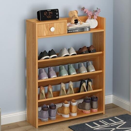鞋架 簡易鞋架多層組裝經濟型家用鞋櫃多功能特價門口鞋架省空間家里人 全館八八折