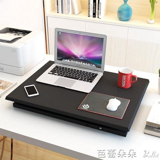 電腦桌 愛多特升降桌站立式辦公電腦桌 桌上桌可折疊辦公桌行動式工作臺『林之舍家居YTL』