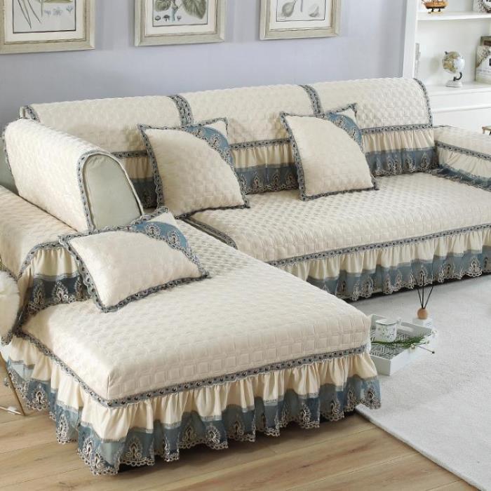 沙發套 歐式四季沙發墊布藝防滑簡約現代通用萬能沙發套罩巾全包全蓋