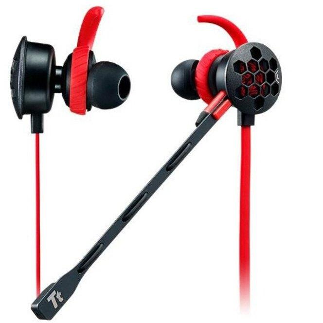 Thermaltake 曜越 TT 隱者PRO 專業版耳道式電競耳機 HT-ISF-ANIBBK-19