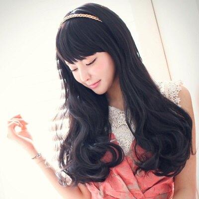 假髮整頂假髮長假髮-時尚可愛氣質捲髮女配件3色73fi53【獨家進口】【米蘭精品】