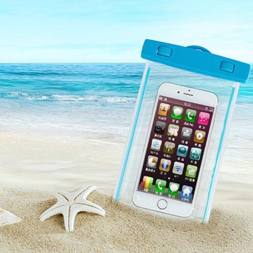 手機防水袋防水袋潛水套觸屏蘋果6S華為三星通用海邊度假潛泳溫泉防水包