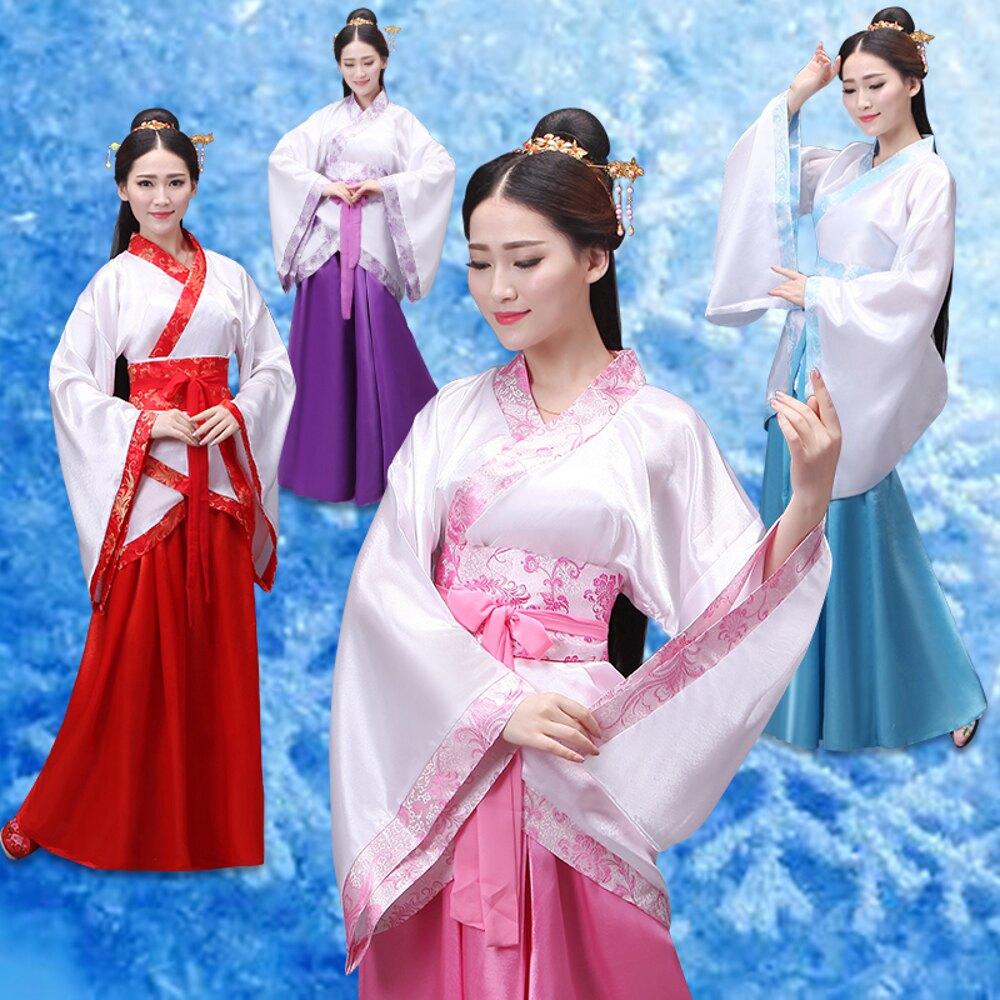 日系和服新品漢服女裝漢服曲裾古裝服裝 漢服民族服裝女古裝曲裾演出服裝