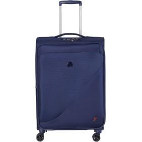 Delsey デルセー NEW DESTINATION ソフトスーツケース キャリーケース 機内持ち込み 容量拡張可能 超軽量 条件付き5年保証 69L+13L&ブルー