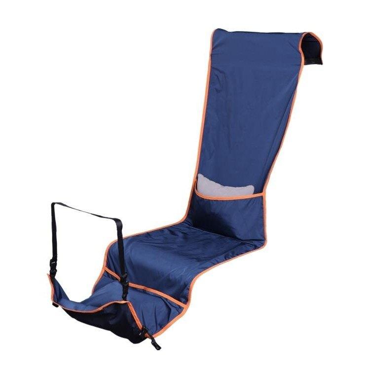 放腳神器坐長途飛機睡覺神器座椅隔臟套高鐵防臟兒童旅行吊床充氣腳墊腰靠《台北日光》