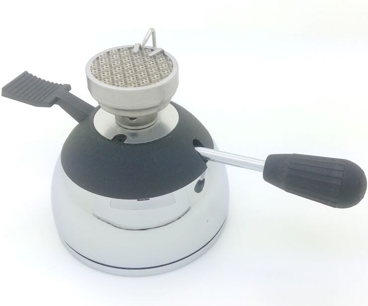 WS-1012迷你登山爐+折疊爐架 小瓦斯爐 咖啡爐 陶瓷爐 可搭配 虹吸壺 摩卡壺 泡茶壺(不含虹吸壺/野營鍋/摩卡壺/玻璃壺)
