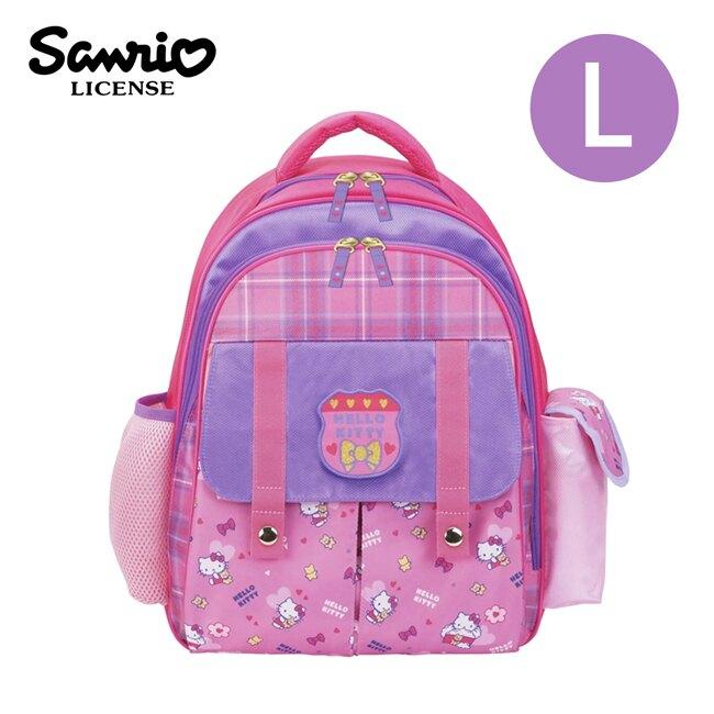 【正版授權】凱蒂貓 兒童背包 L號 後背包 背包 書包 Hello Kitty 三麗鷗 Sanrio - 977190