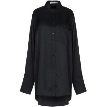 《セール開催中》ACNE STUDIOS レディース シャツ ブラック 34 レーヨン 100%