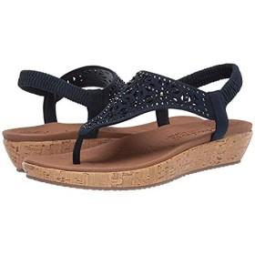 [スケッチャーズ] レディースサンダル・靴 Brie Dally Navy 2 (23cm) M [並行輸入品]