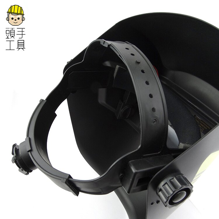 《頭手工具》鏡片帽式加厚護具 透氣電焊面罩 臉部 工業頭戴式防護 防鐵屑頭套 全罩 MIT-PGM10249