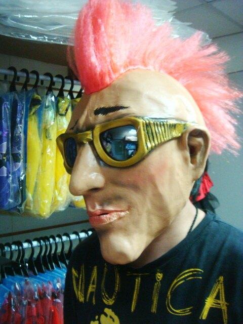 東區派對-萬聖節面具/龐克戴墨鏡面具/人物面具/