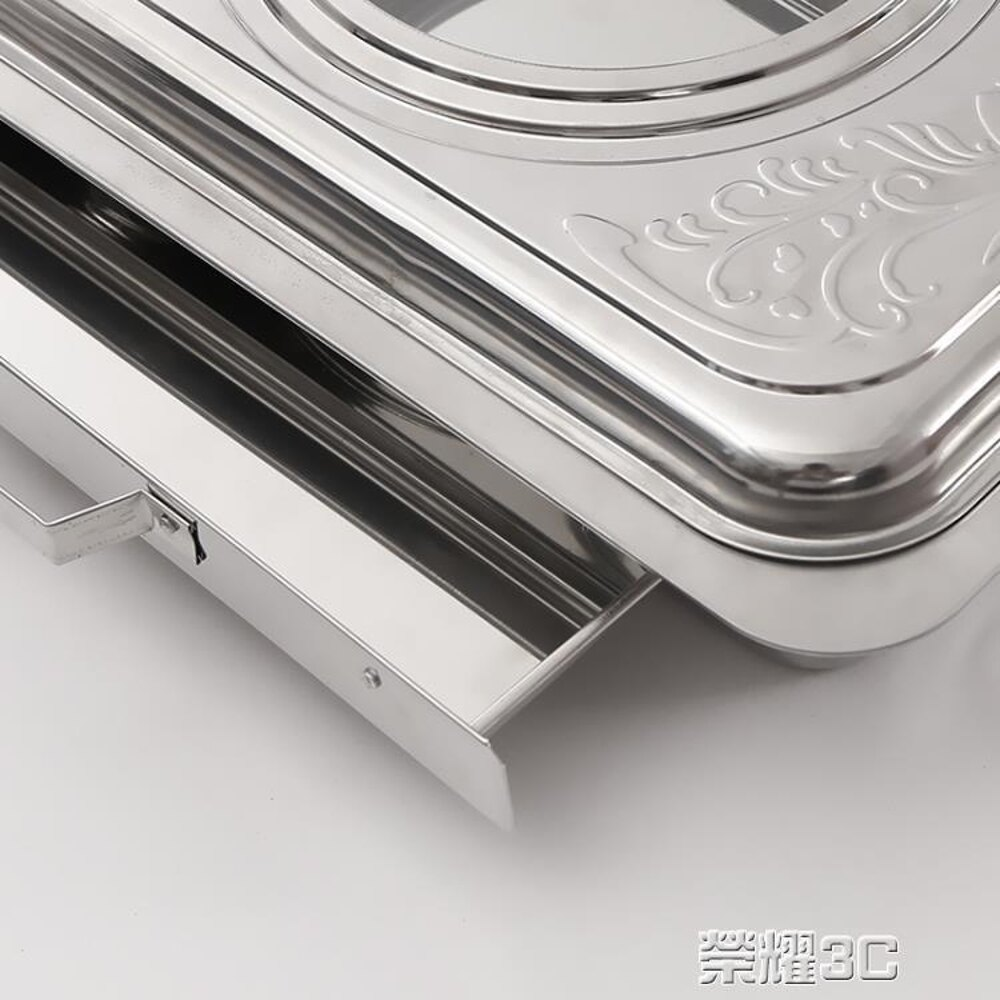 腸粉機 304不銹鋼家用腸粉蒸盤小型自制作拉腸粉機工具電磁爐專用