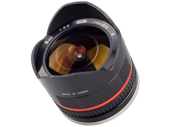 Samyang 鏡頭專賣店:8mm/F2.8 Fisheye ASPH for Samsung 黑色 (魚眼 NX 100 NX 200)CSII二代(保固二個月)