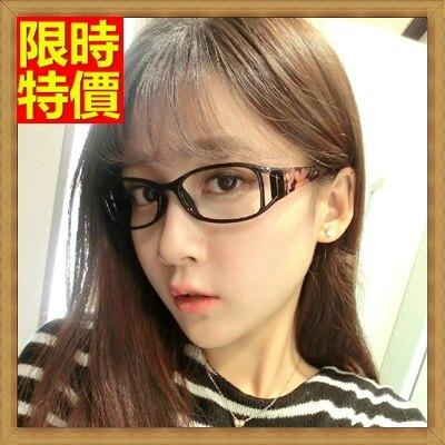 眼鏡框眼鏡架-時尚精美花朵鏡腿男女配件2色67ac21【獨家進口】【米蘭精品】