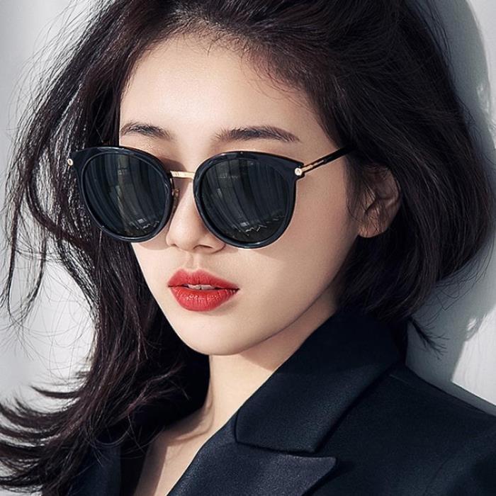 太陽眼鏡 墨鏡女防紫外線潮偏光太陽鏡眼鏡