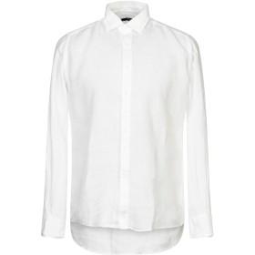《セール開催中》TAKESHY KUROSAWA メンズ シャツ ホワイト S 麻 100%