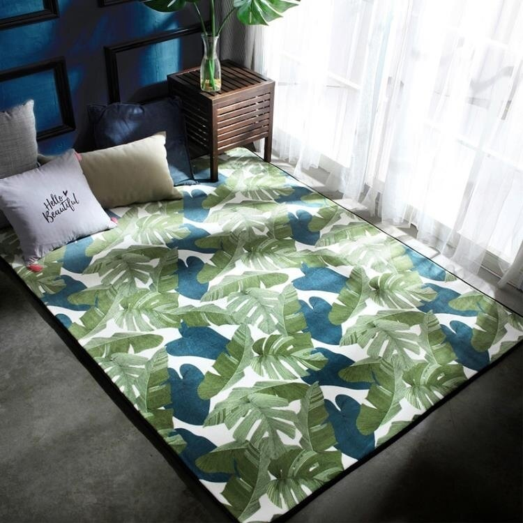 地毯臥室腳墊進門墊防滑墊地板墊子家用床邊地墊客廳滿鋪可愛 領券下定更優惠