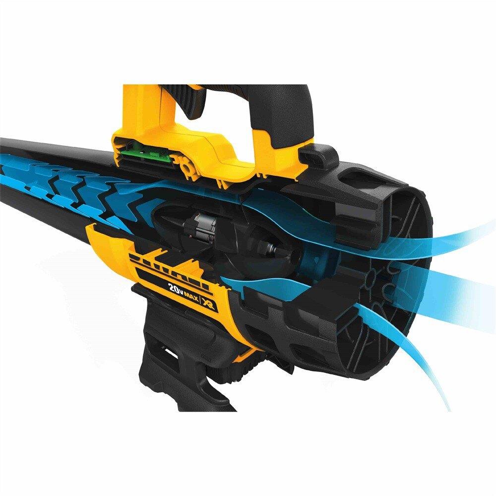 【DEWALT 得偉】20V Max* (18V)XR鋰電無碳刷吹風槍 DCBL720P1