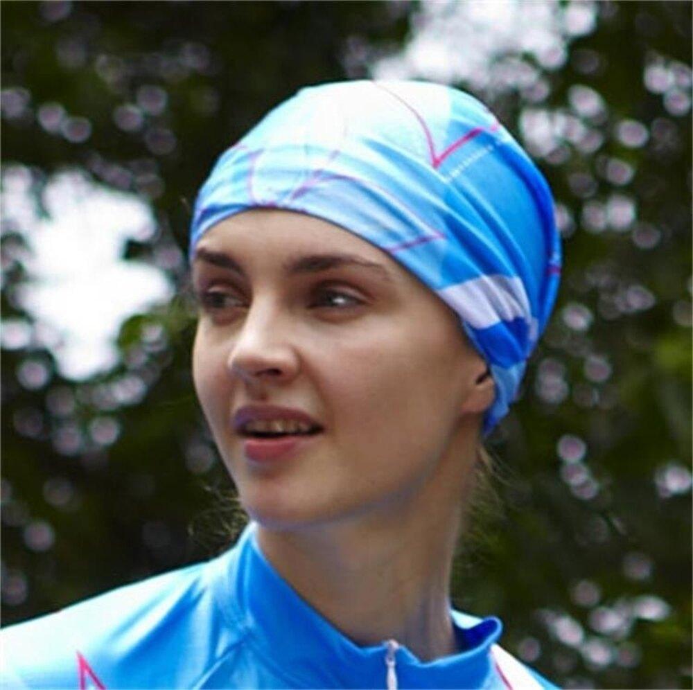 魔術頭巾男運動女戶外圍脖百變無縫騎行發帶面罩