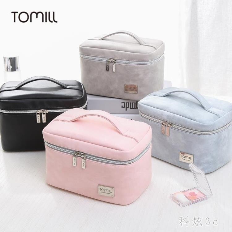 旅行便攜簡約軟妹可愛少女ins網紅化妝包大容量化妝品收納包 js22066