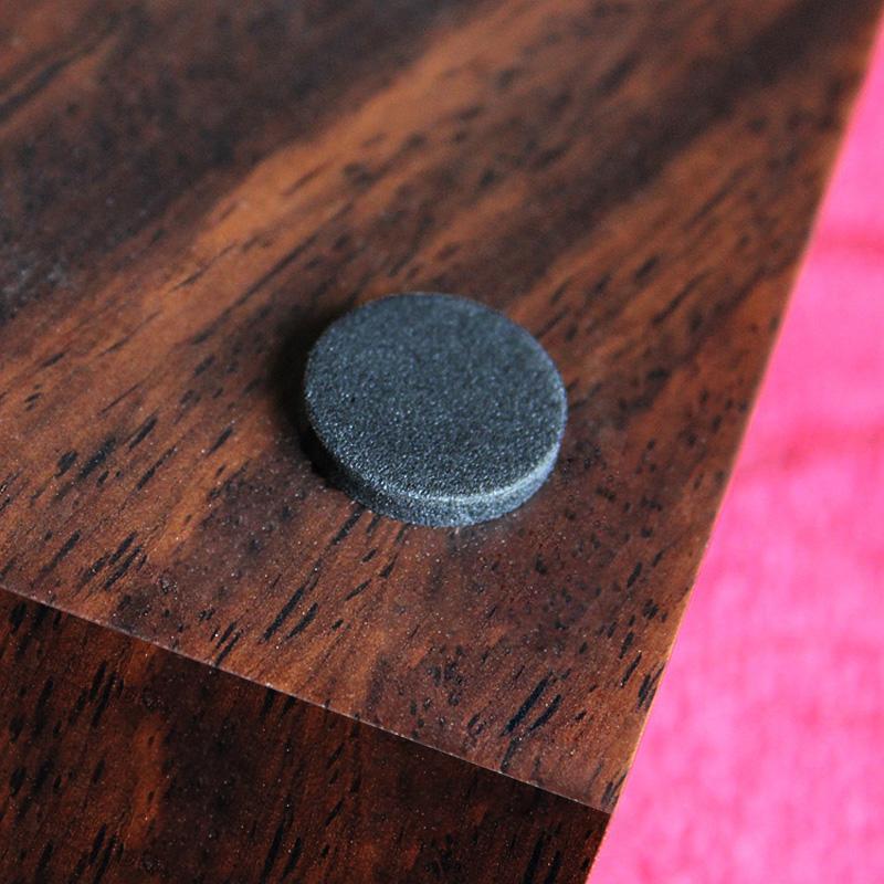 木已成桌中式黑檀木煙灰缸實木煙灰缸客廳木質煙灰缸紅木禮品定制