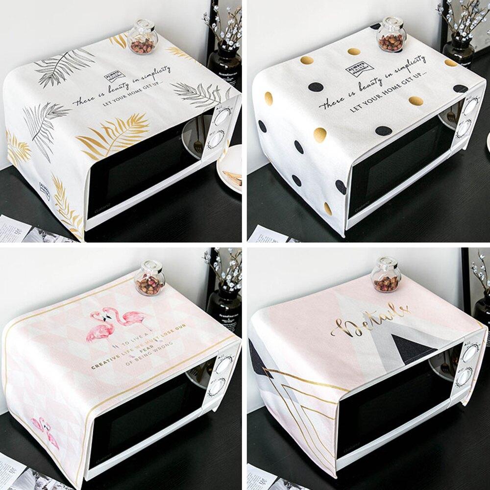 可愛時尚棉麻蓋布12 餐具 微波爐 烤箱 冰箱 (35*100cm)