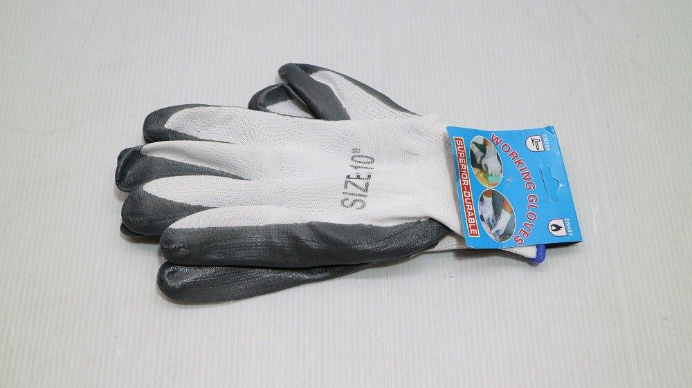 *好管家*AA222尼龍丁青白紗灰膠手套 塑膠手套 棉紗手套 矽膠手套