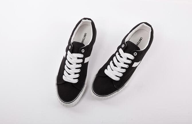 FINDSENSE MD 韓國  時尚休閒 潮 男 黑白桔三色 硫化鞋 流行帆布鞋 圓頭鞋 平底鞋