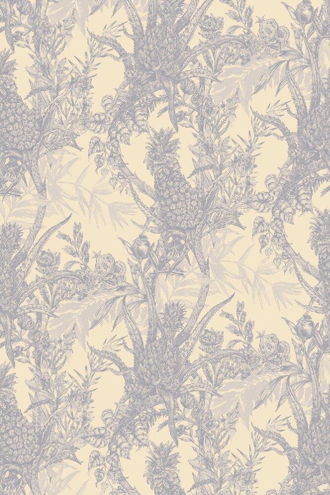 Timorous Beasties / Pineapple / HS/PINE/4004/01 壁紙 (訂貨單位52cm10m/卷)