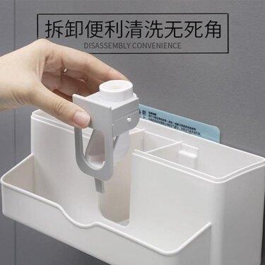 牙刷架 牙刷置物架衛生間漱口杯架牙刷架置物架刷牙杯套裝吸壁式牙刷架 領券下定更優惠