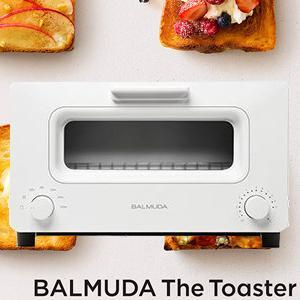 BALMUDA-百慕達 The Toaster 蒸氣烤麵包機(白)K01D-WS
