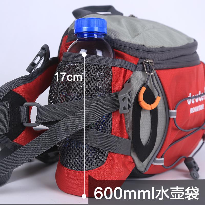 腰包 背包運動腰包戶外男多功能騎行防水雙肩旅游女大容量水壺腰包登山