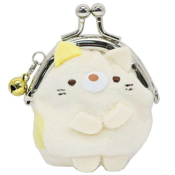 【角落生物娃娃零錢小包】角落生物 手掌娃娃 零錢包 鈴鐺 貓咪 日本正版 該該貝比日本精品