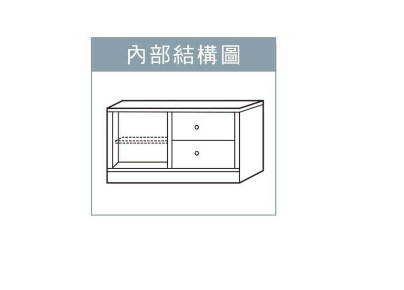 【石川家居】76FU06 左單開門+右二抽鞋櫃 (不含其他商品) #訂製預購款式 #南亞塑鋼B #抗潮防霉好清洗