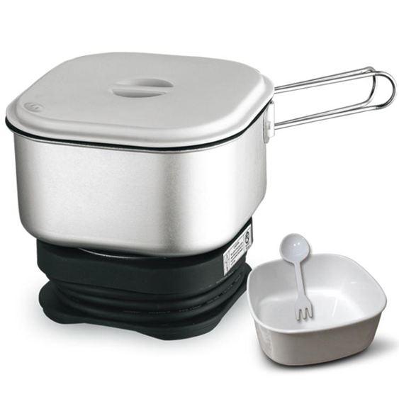 出口110V雙電壓迷你旅行鍋便攜式電熱杯學生宿舍煮面電煮鍋小火鍋