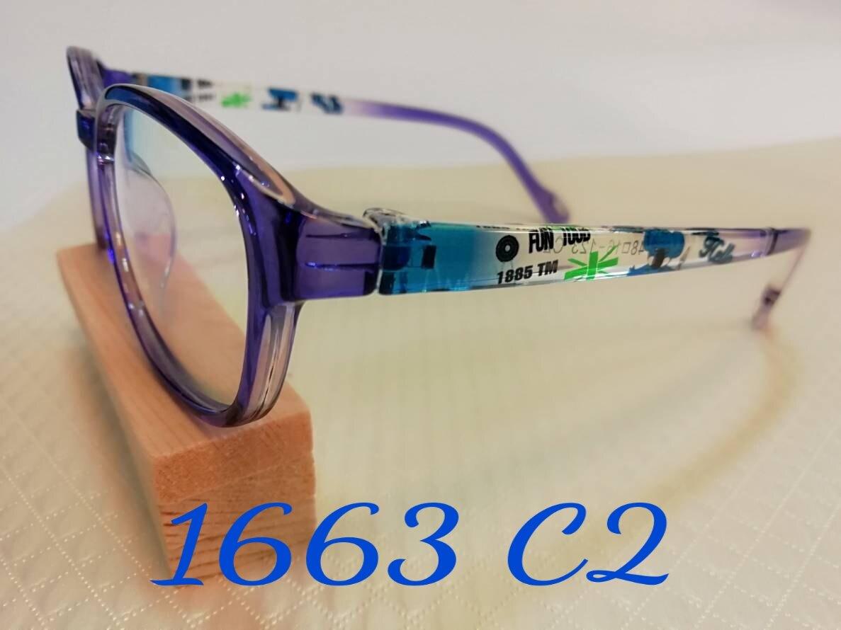 眼的護具~濾藍光眼鏡(平光童框)~隔離紫外線減少藍光傷害~低頭族最愛~手機配件~光學鏡框~1663 C2~