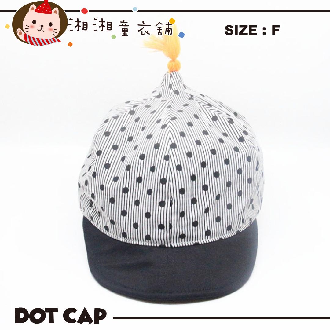 【M0965】兒童帽子 童帽 條紋波點款 小童帽子 可愛童帽 造型帽
