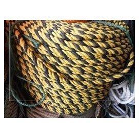 直徑12MM老虎繩每米價 尼龍繩 車船用捆綁花繩 警戒繩子