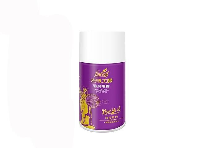 【去味大師】 消臭噴霧-時尚紐約-紫 280ml