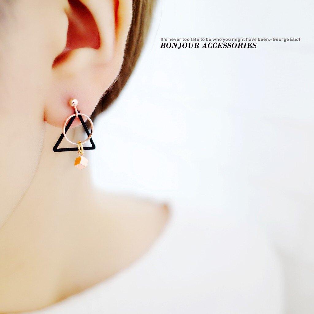 Bonjouracc 百變韓國4件 耳環組