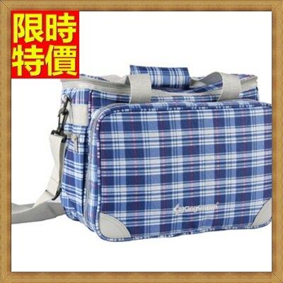 野餐包+2人餐具組肩背手提包-家庭式外出登山露營手提單肩兼具野餐包+68ag27【獨家進口】【米蘭精品】