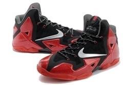 詹姆斯11代籃球鞋鴛鴦13全明星夜光高幫戰靴塗鴉運動男鞋