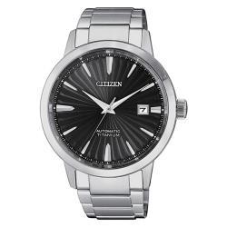 【CITIZEN 星辰】GENTS鈦金屬機械腕錶40.5mm(NJ2180-89H)